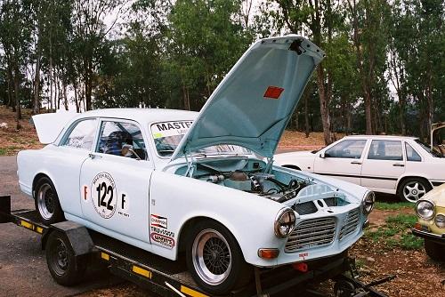 Alan Pulter's racing 122