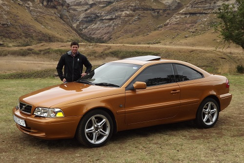 Deon and his 2001 C70