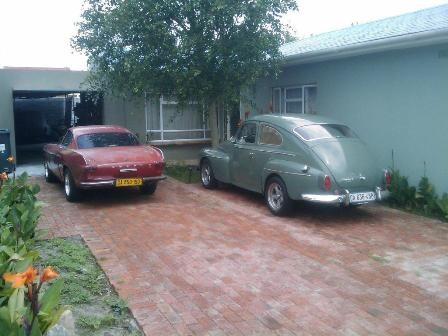 Both my Volvo together