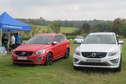 Two new XC60 R Design at the Tom Campher Motors Display