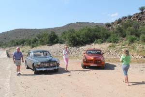 The 2 122S's at the start if Meiringspoort