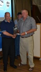 Wilco receiving his award